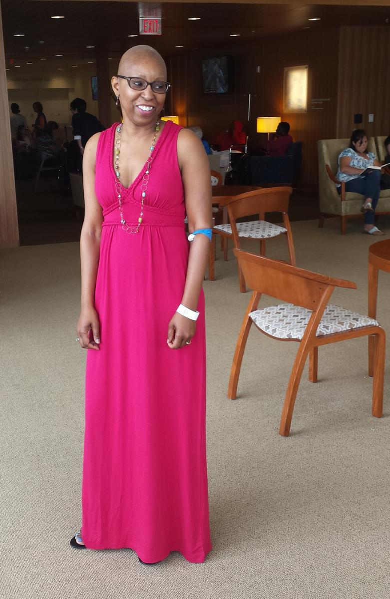 Looking pretty in pink, Sherry Wallace will be stepping out with her team at this year's Komen Race For the Cure on Saturday, June 13.