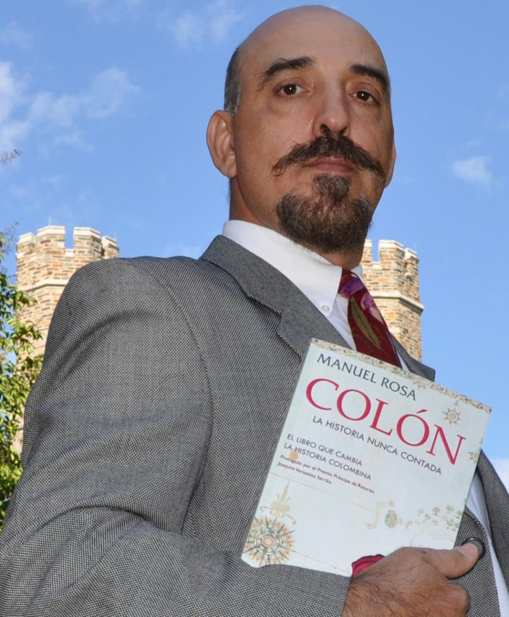 Several years after publishing his first book, Manuel Rosa began a career in IT at Duke.