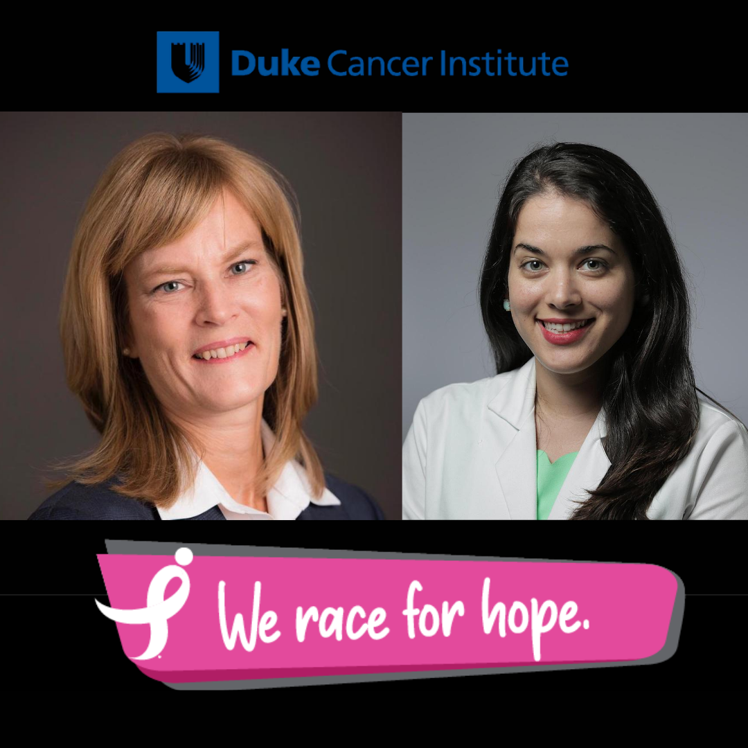 Susan Dent, MD, and Sarah Sammons, MD