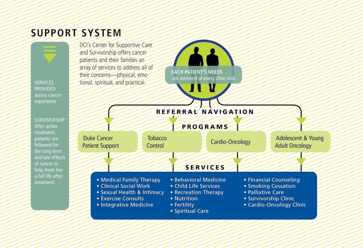 Center for Supportive Care and Survivorship Chart