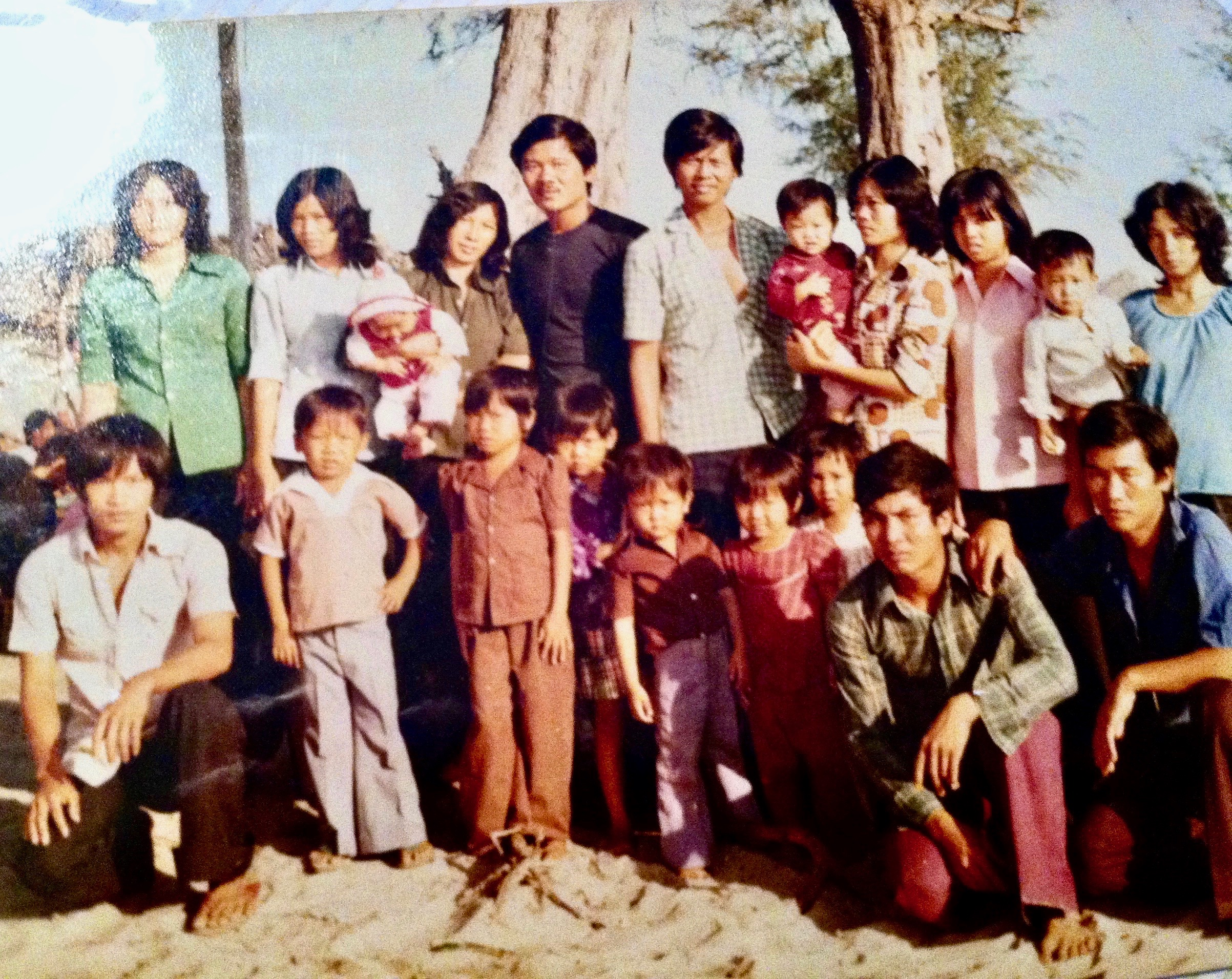 Phong Huynh family in Thailand