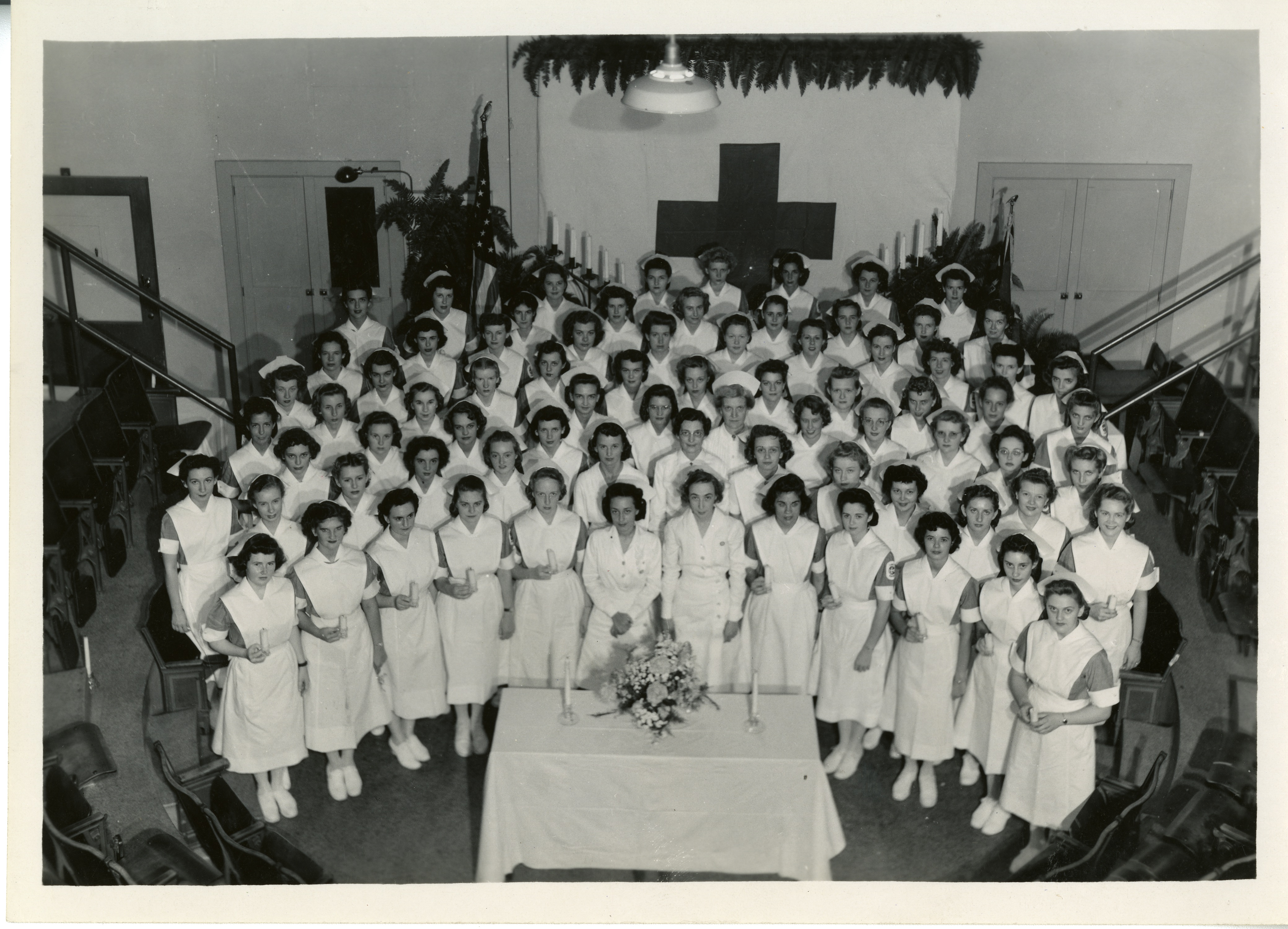 Capping ceremony, 1947