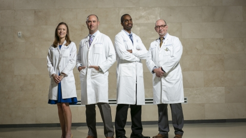 Leadership team of the Duke Brain and Spine Metastasis Center